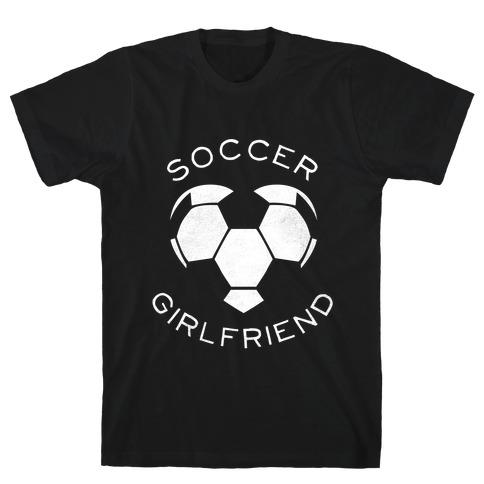 Soccer Girlfriend (Dark Tank) T-Shirt