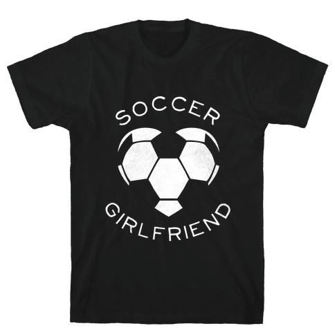 Soccer Girlfriend (Dark Tank) Mens T-Shirt