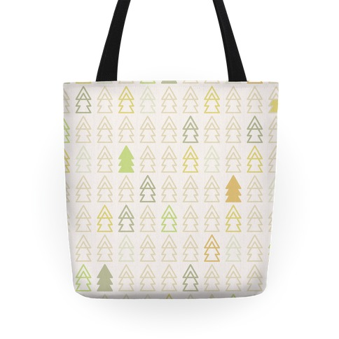 Autumn Evergreen Trees Tote