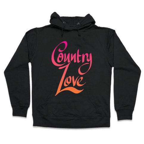 Country Love Hooded Sweatshirt