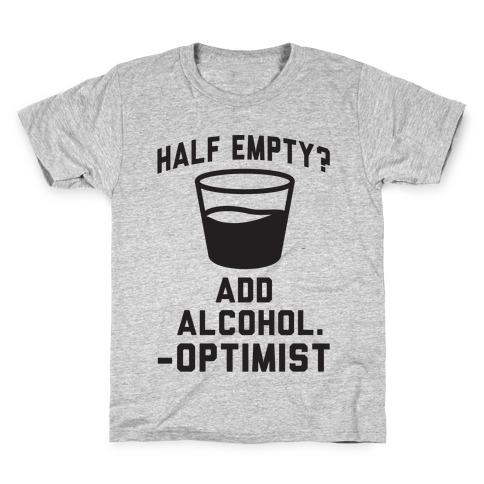 Optimistic Alcoholic Kids T-Shirt