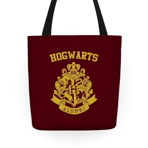 Hogwarts Alumni Crest Tote