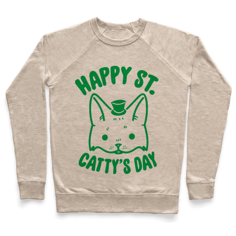Happy St. Catty's Day Pullover