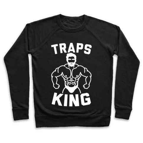 Traps King Parody Pullover
