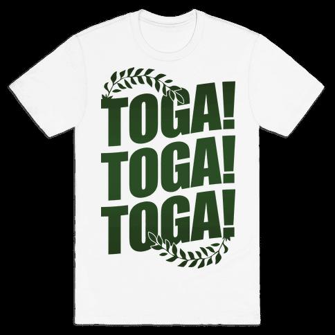 TOGA! TOGA! TOGA! Mens T-Shirt