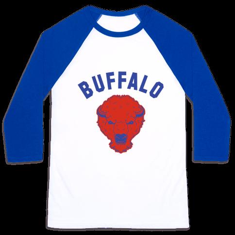 Bison Buffalo Baseball Tee