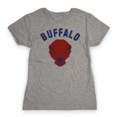 Bison Buffalo Womens T-Shirt