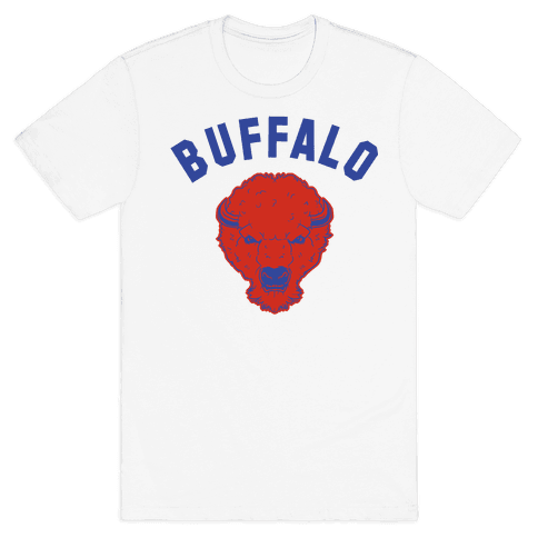 Bison Buffalo Mens T-Shirt