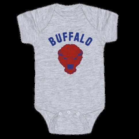 Bison Buffalo Baby Onesy