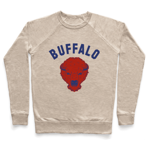 Bison Buffalo Pullover