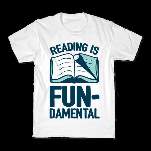 Reading Is Fundamental Kids T-Shirt