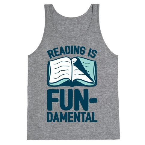 Reading Is Fundamental Tank Top