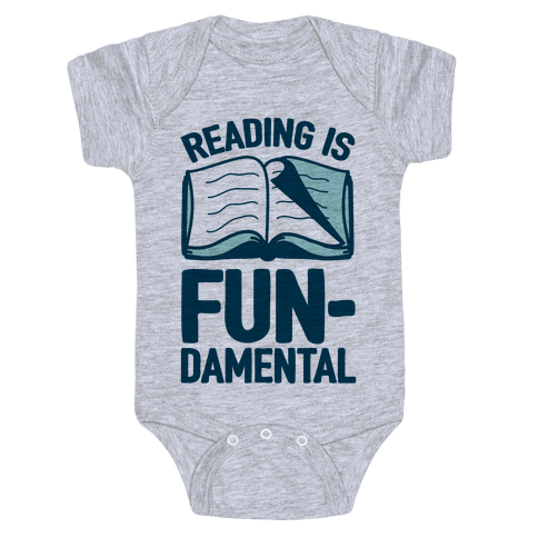 Reading Is Fundamental Baby Onesy