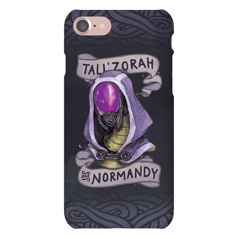 Tali'Zora Vas Normandy Phone Case