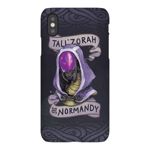Tali'Zora Vas Normandy Phone Case