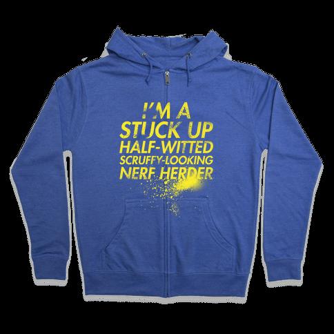 Nerf Herder Zip Hoodie