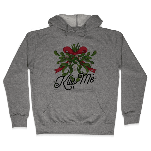 Mistletoe Kiss Me Hooded Sweatshirt