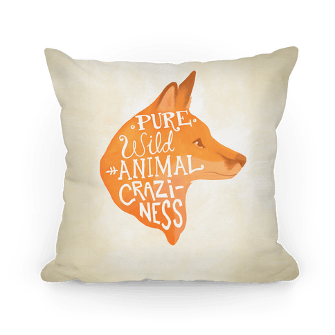 Pure Wild Animal Craziness Pillow
