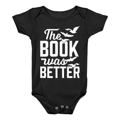 The Book Was Better (Divergent) Baby Onesy