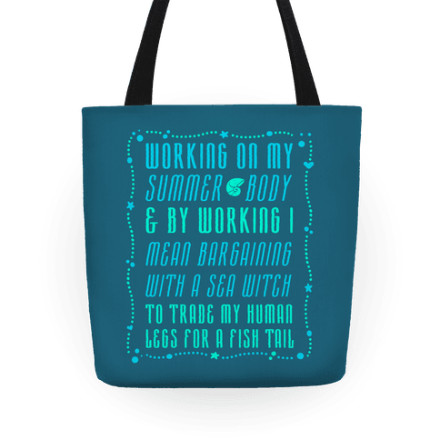 Mermaid Summer Body Tote