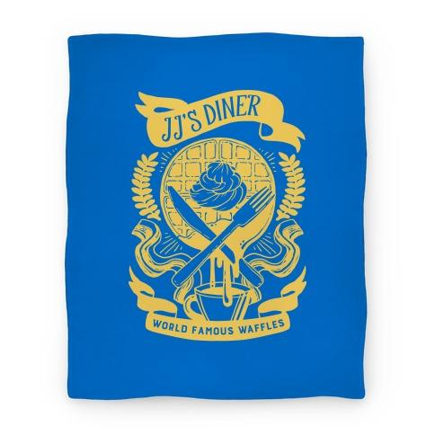 JJ's Diner: Belgian Waffle Crest Blanket