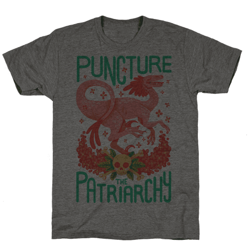 Puncture The Patriarchy Mens T-Shirt