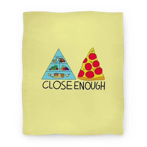 Pizza Pyramid (Close Enough) Blanket