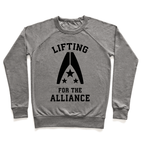 Lifting For The Alliance Pullover