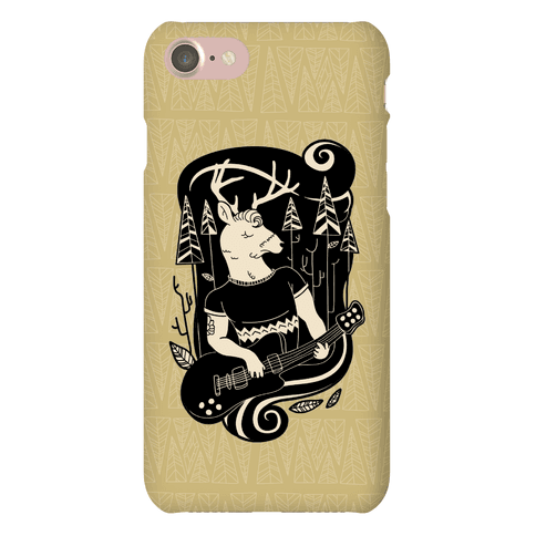 Rock and Roll Buck Phone Case