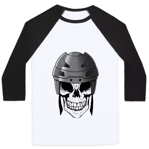 Hockey or Die Baseball Tee