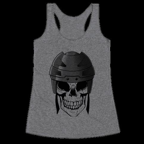 Hockey or Die Racerback Tank Top