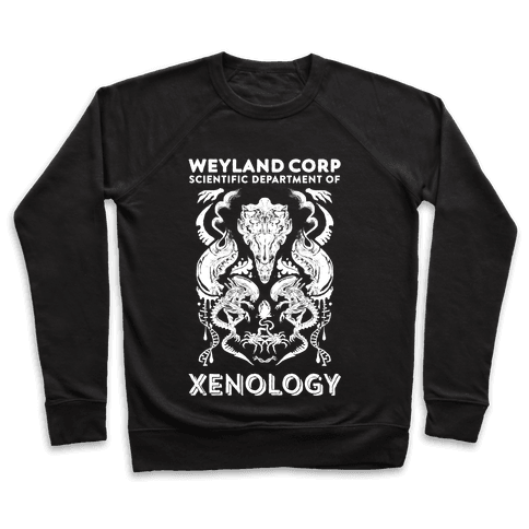 Weyland Corp Scientific Department Of Xenology Pullover