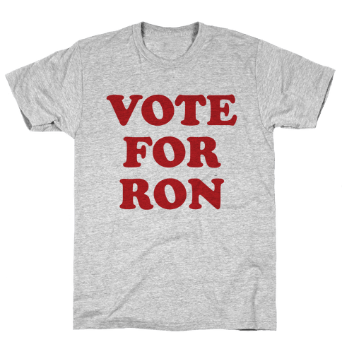 Vote for Ron Mens T-Shirt