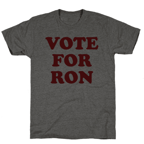 Vote for Ron