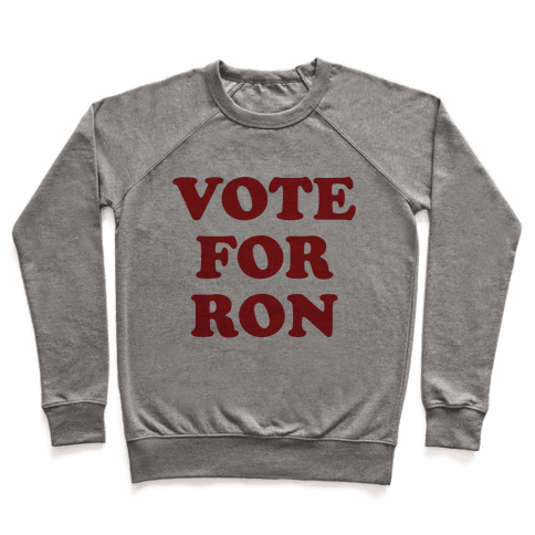 Vote for Ron Pullover