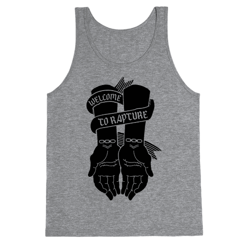 Welcome to Rapture Tank Top