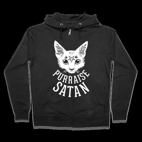 Purraise Satan Zip Hoodie