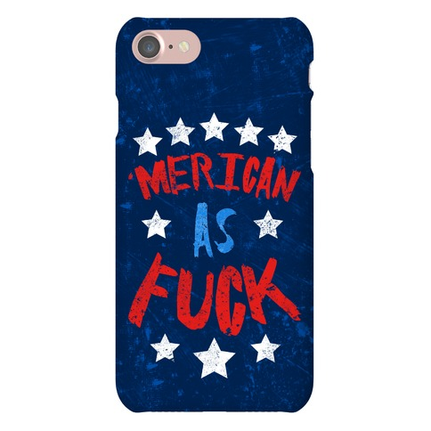 'Merican As F*** Phone Case