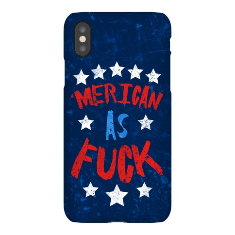 'Merican As F*** Phone Case
