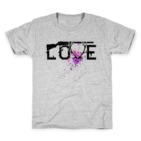 Love to Hunt Kids T-Shirt