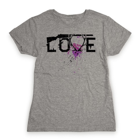 Love to Hunt Womens T-Shirt