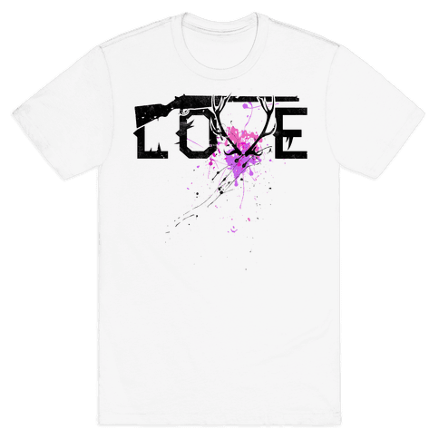 Love to Hunt Mens T-Shirt