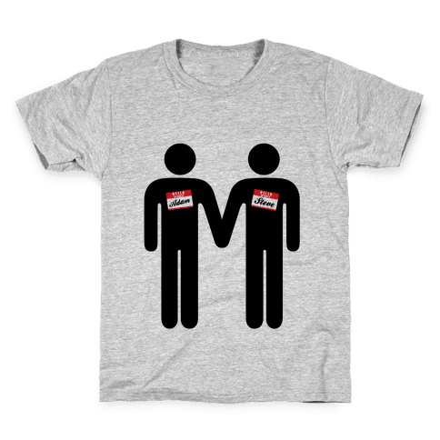 Adam and Steve Kids T-Shirt