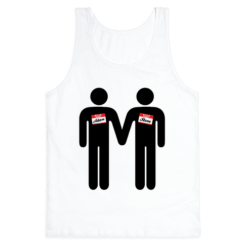 Adam and Steve Tank Top
