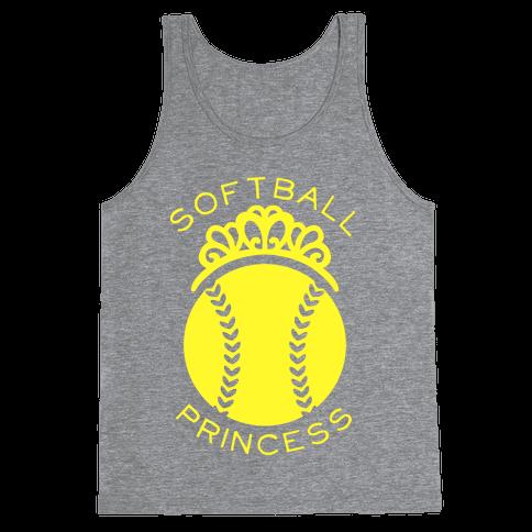Softball Princess Tank Top