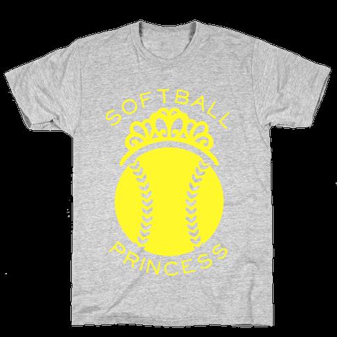 Softball Princess Mens T-Shirt