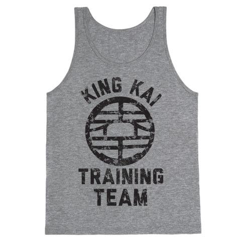 King Kai Training Team Tank Top