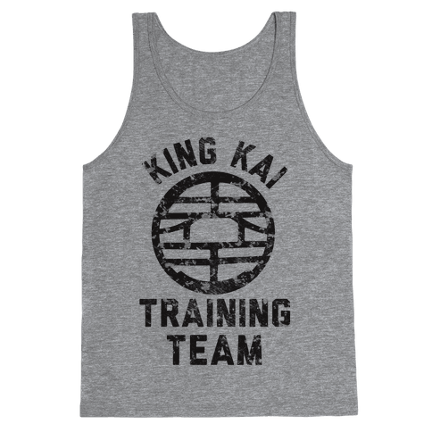 King Kai Training Team Tank Top