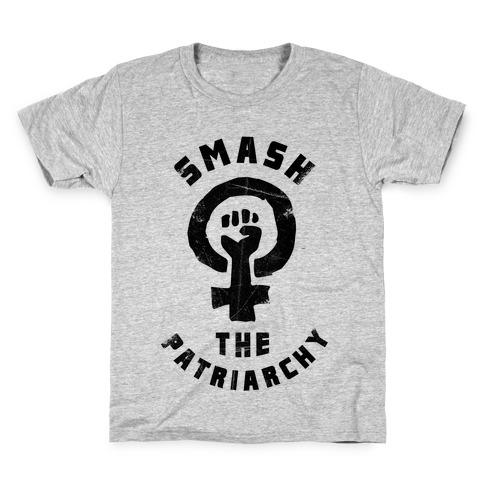 Smash The Patriarchy Kids T-Shirt