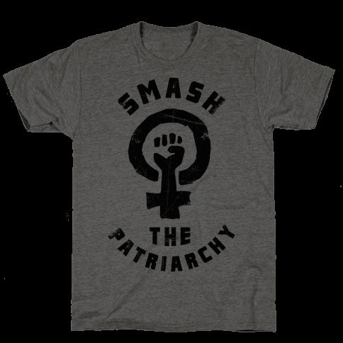 Smash The Patriarchy Mens/Unisex T-Shirt